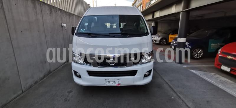 Nissan Urvan 15 Pas Amplia Aa Pack Seguridad usado (2016) color Blanco precio $320,000