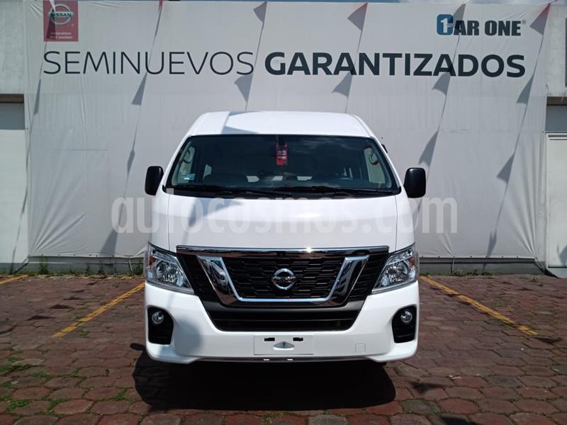 Nissan Urvan 15 Pas Amplia  usado (2020) color Blanco precio $499,000