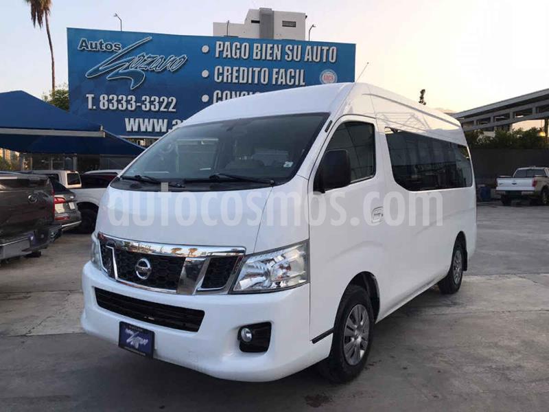 Nissan Urvan 15 Pas Amplia Pack Seguridad usado (2017) color Blanco precio $319,900
