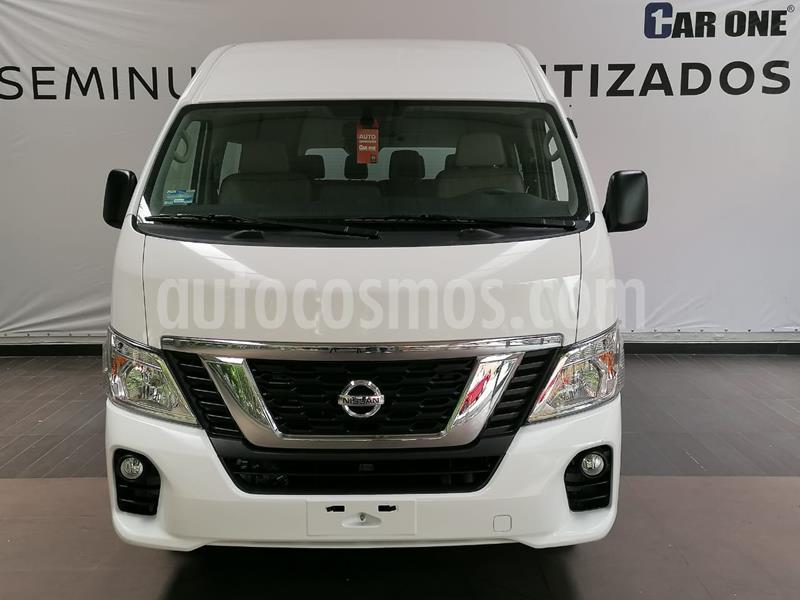 Nissan Urvan 15 Pas Amplia Aa Pack Seguridad usado (2020) color Blanco precio $499,000