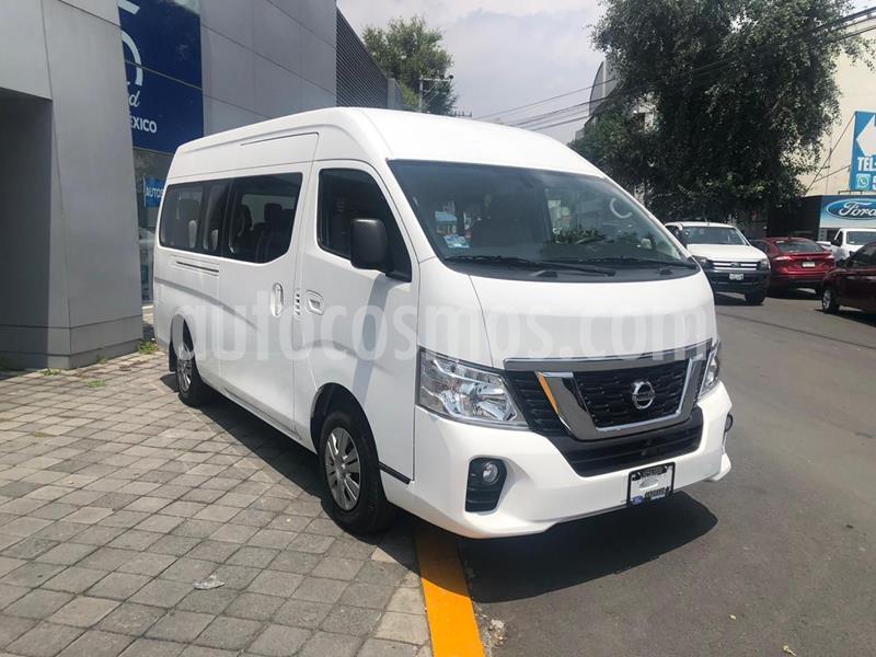 Nissan Urvan 15 Pas Amplia Aa usado (2020) color Blanco precio $524,000