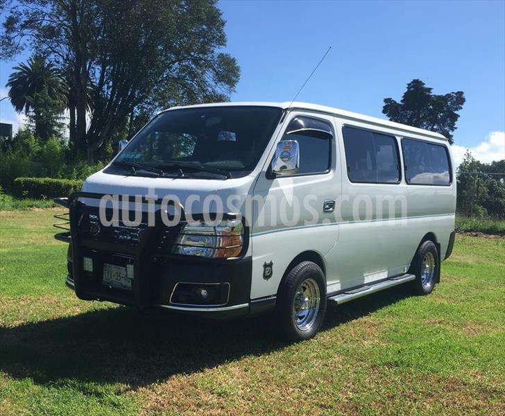 Nissan Urvan 3P GX LARGA 5VEL A/A 9 PASAJEROS usado (2009) color Blanco precio $210,000