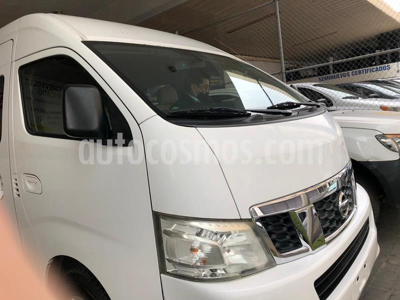 Nissan Urvan 15 Pas Amplia Pack Seguridad usado (2015) color Blanco precio $289,000