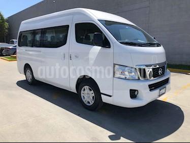 Nissan Urvan 4p Amplia L4/2.5 Man A/A 15/Pas usado (2017) color Blanco precio $349,000