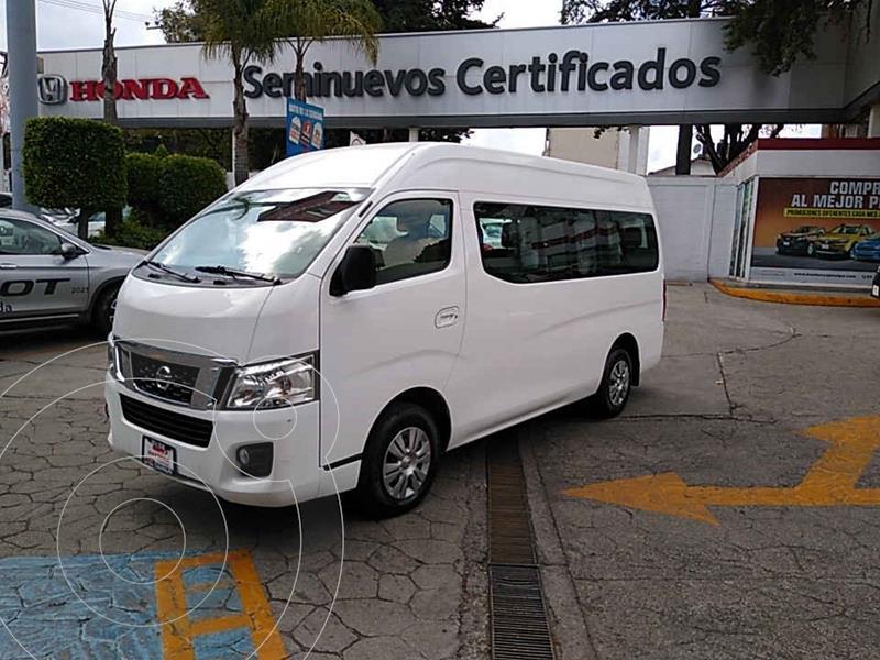 Nissan Urvan 15 Pas Amplia Pack Seguridad usado (2017) color Blanco precio $304,000