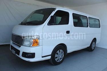 Nissan Urvan 3p GX Larga 5vel a/a 12 pasajeros usado (2011) color Blanco precio $189,000