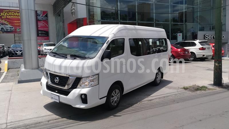 Nissan Urvan 15 Pas Amplia Aa usado (2019) color Blanco precio $415,000