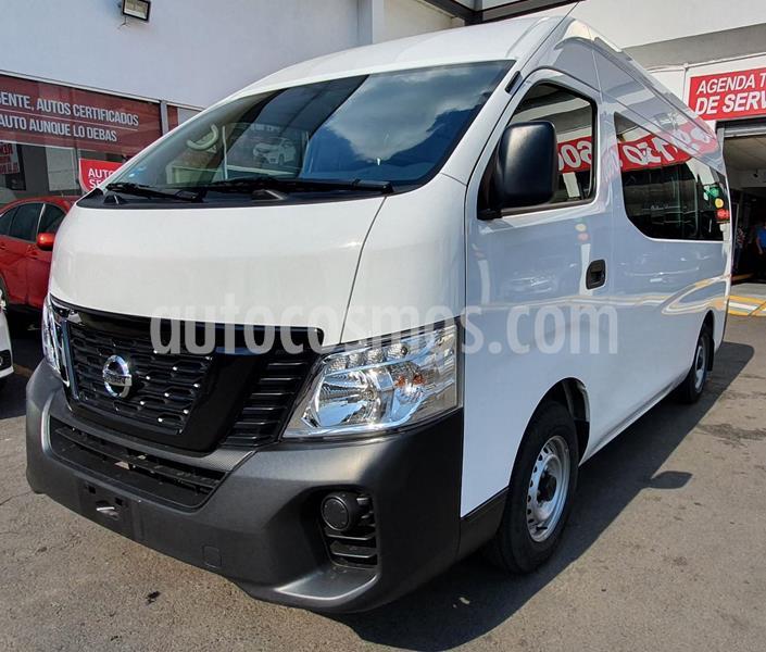 Nissan Urvan Panel Ventanas Amplia usado (2020) color Blanco precio $455,000