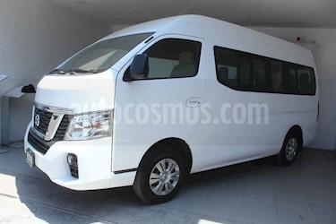 Nissan Urvan 4p Amplia L4/2.5 15/Pas P/Seg usado (2018) color Blanco precio $389,000