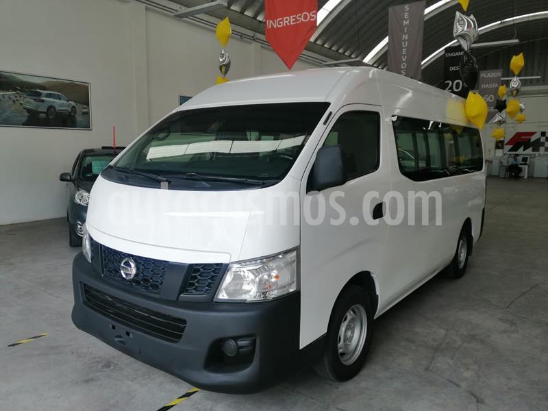Nissan Urvan Panel Ventanas Amplia usado (2014) color Blanco precio $200,000