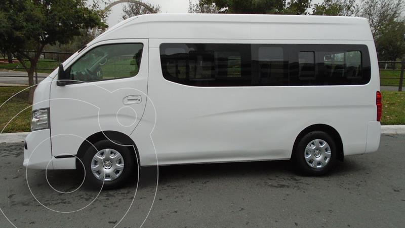 Foto Nissan Urvan 15 Pas Amplia Aa Pack Seguridad usado (2018) color Blanco precio $319,900