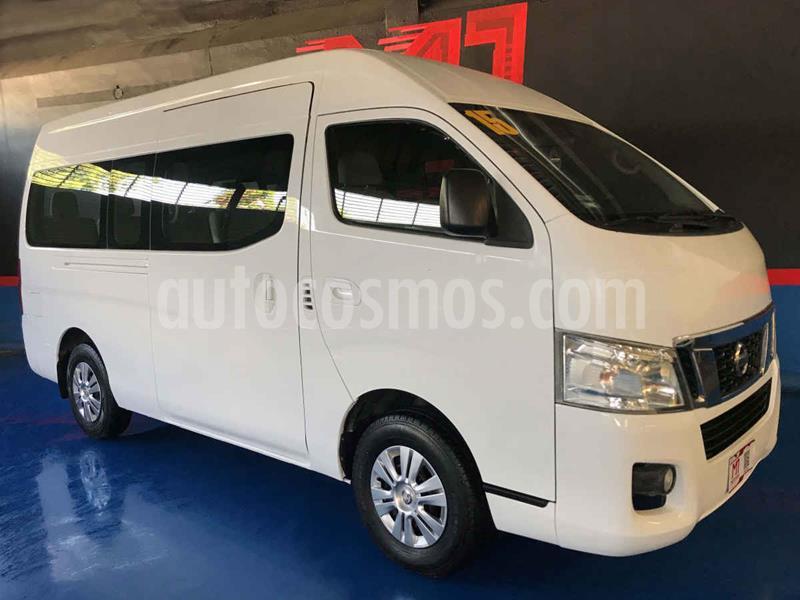Nissan Urvan 12 Pas Ac usado (2015) color Blanco precio $269,000