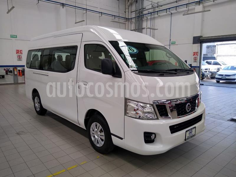 Nissan Urvan 15 Pas Amplia Pack Seguridad usado (2016) color Blanco precio $320,000