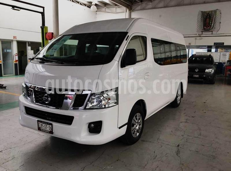 Nissan Urvan 15 Pas Amplia Aa usado (2016) color Blanco precio $329,900