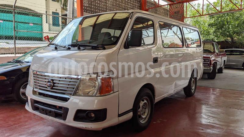 Nissan Urvan GX Larga 12 Pas Ac usado (2011) color Blanco precio $190,000