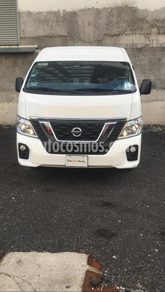 Nissan Urvan 12 Pas Aa usado (2017) color Blanco precio $449,000