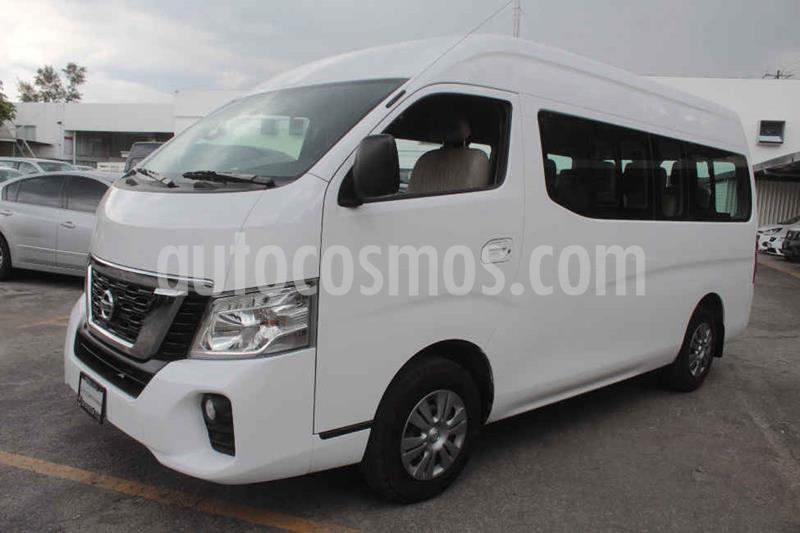 Nissan Urvan 15 Pas Amplia Pack Seguridad usado (2019) color Blanco precio $405,000