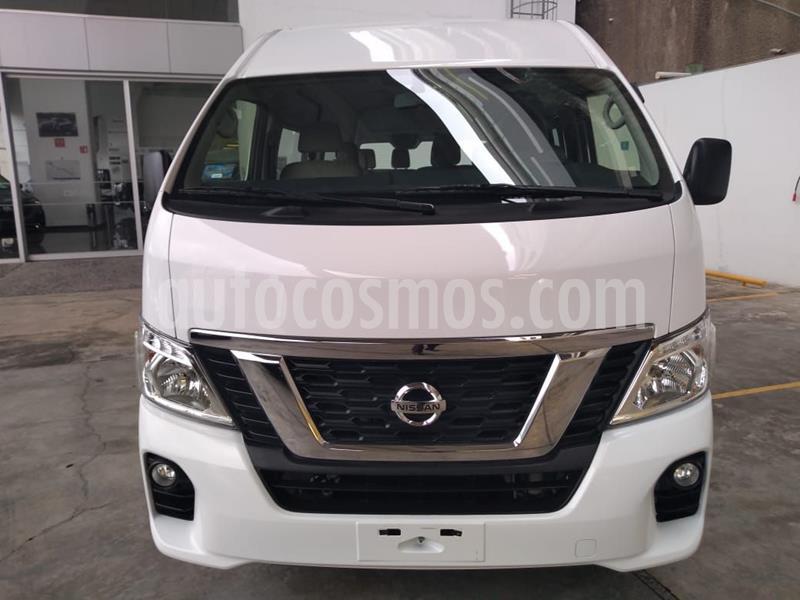 Nissan Urvan 15 Pas Amplia Aa usado (2020) color Blanco precio $493,000