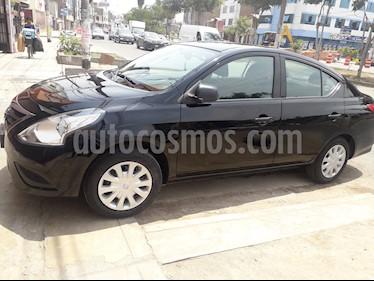 Nissan Versa  1.6L Drive  usado (2017) color Negro precio $11,000