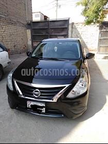 Foto venta Auto usado Nissan Versa  1.6L Sense  (2015) color Negro precio u$s9,800