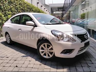 Nissan Versa 4p Advance L4/1.6 Aut usado (2018) color Blanco precio $209,000