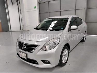 Foto venta Auto usado Nissan Versa 4p Advance L4/1.6 Aut (2014) color Plata precio $149,000