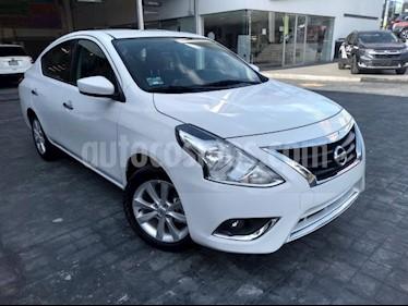 Foto venta Auto usado Nissan Versa 4p Advance L4/1.6 Aut (2018) color Blanco precio $214,000