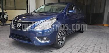 Nissan Versa 4p Advance L4/1.6 Man usado (2019) color Azul precio $219,000