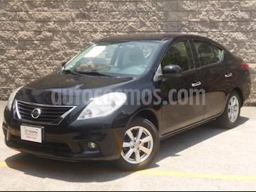 Foto venta Auto usado Nissan Versa 4p Advance L4/1.6 Man (2014) color Negro precio $125,000