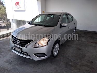 Foto venta Auto usado Nissan Versa 4p Advance L4/1.6 Man (2015) color Plata precio $130,000