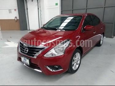 Foto venta Auto usado Nissan Versa 4p Advance L4/1.6 Man (2017) color Rojo precio $165,000