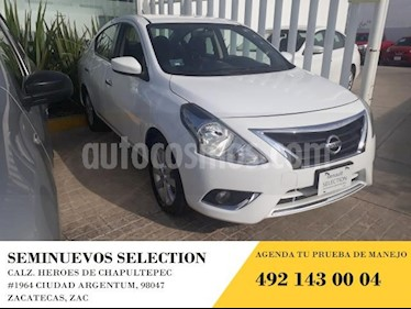 Nissan Versa 4p Advance L4/1.6 Man usado (2017) color Blanco precio $175,000