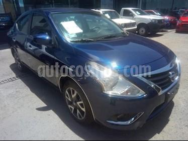 Foto venta Auto usado Nissan Versa 4p Advance L4/1.6 Man (2019) color Azul precio $219,000