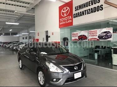 Foto venta Auto usado Nissan Versa 4p Advance L4/1.6 Man (2018) color Gris precio $178,000