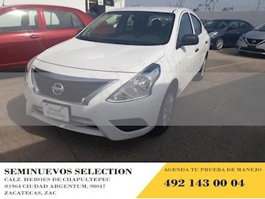 Foto venta Auto usado Nissan Versa 4p Drive L4/1.6 Man (2019) color Blanco precio $160,000