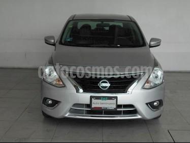 Foto venta Auto usado Nissan Versa 4p Exclusive L4/1.6 Aut (2016) color Plata precio $199,000