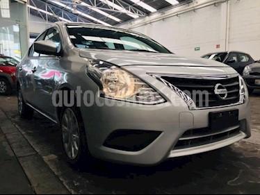 Nissan Versa 4p Sense L4/1.6 Aut usado (2018) color Plata precio $189,000