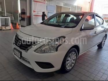Foto Nissan Versa 4p Sense L4/1.6 Aut usado (2018) color Blanco precio $169,000