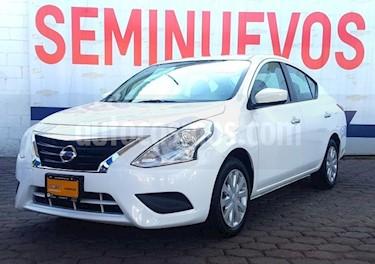 Foto Nissan Versa 4p Sense L4/1.6 Aut usado (2018) color Blanco precio $179,000