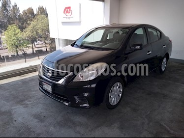 Foto venta Auto usado Nissan Versa 4p Sense L4/1.6 Man (2014) color Negro precio $135,000