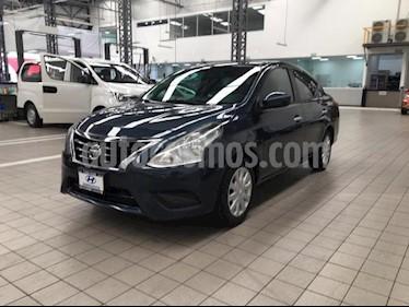 Foto Nissan Versa 4P SENSE TM5 A/AC. VE. usado (2015) color Azul precio $149,000