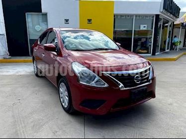 Nissan Versa 4P SENSE TM5 A/AC. VE. usado (2017) color Rojo precio $155,000
