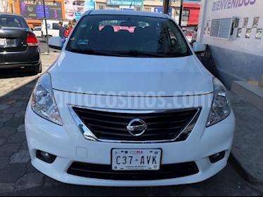 Foto venta Auto Seminuevo Nissan Versa ADVANCE A/T A/C 1.6L (2012) color Blanco precio $119,800