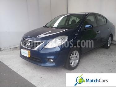 Foto venta Carro usado Nissan Versa Advance Aut (2012) color Azul precio $23.990.000