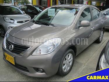 Foto venta Carro usado Nissan Versa Advance Aut  (2013) color Beige precio $31.900.000
