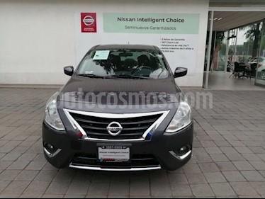 Foto venta Auto usado Nissan Versa Advance Aut (2017) color Gris Oscuro precio $199,000