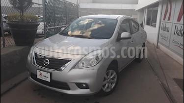 Foto venta Auto usado Nissan Versa Advance Aut (2013) color Plata precio $134,000