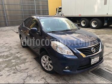 Foto Nissan Versa Advance Aut  usado (2013) color Azul precio $119,000