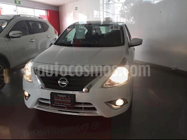Nissan Versa Advance Aut usado (2018) color Blanco precio $210,000
