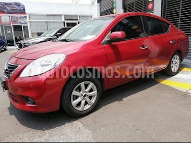 Foto venta Auto usado Nissan Versa Advance Aut  (2014) color Rojo precio $135,000